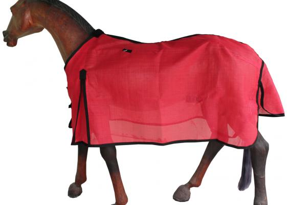 Gng R4505 Horse Fly Combo Rug Red Mesh