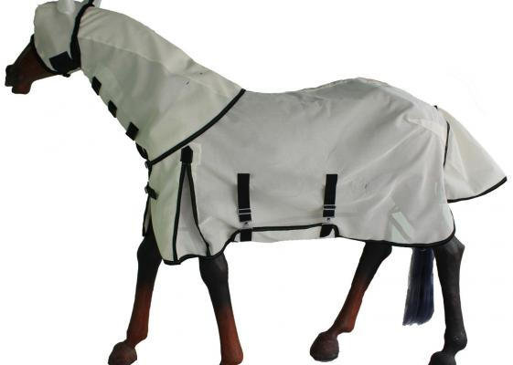 Gng C4503 Horse Fly Combo Rug Fine Mesh With Belly Band