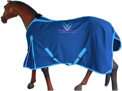 GNG-R5906 – Horse Summer Rug in Denim Cloth Navy
