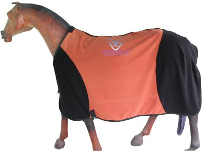 Horse Fleece Rug in Beautiful Two tone