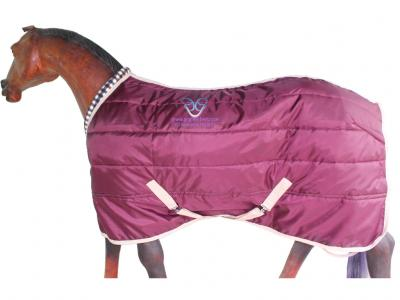 Horse Stable Rug in Maroon